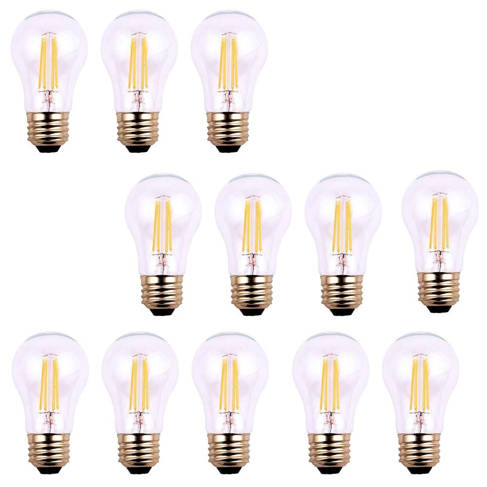40 Watt Equivalent A19 Dimmable Clear Filament Vintage Style Led