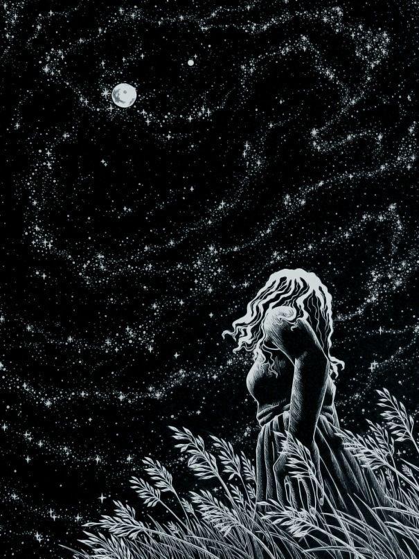 """Summer Night"" by AkagenoSaru"