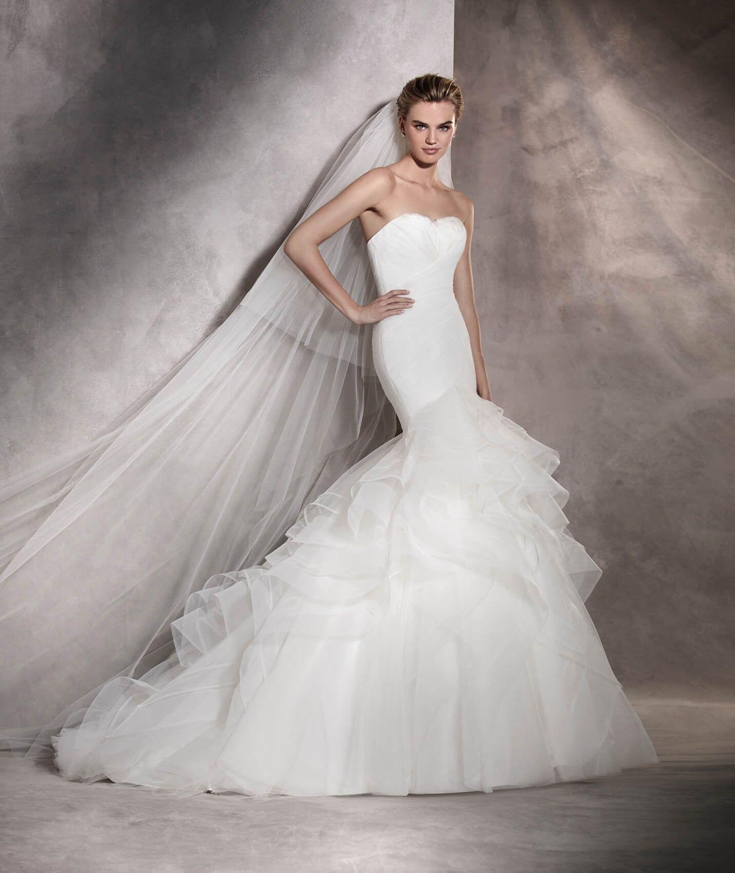 Asha - Vestido de novia en tul dc1cfd047358