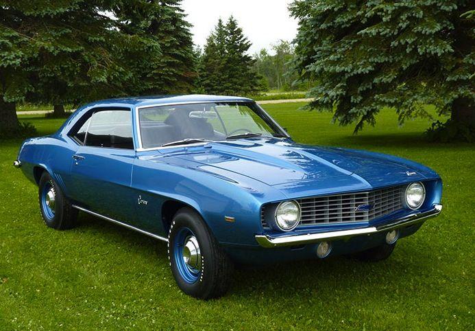 Rare 1969 Chevrolet Camaro Zl1 427ci 7 0l Alloy Block V8 When