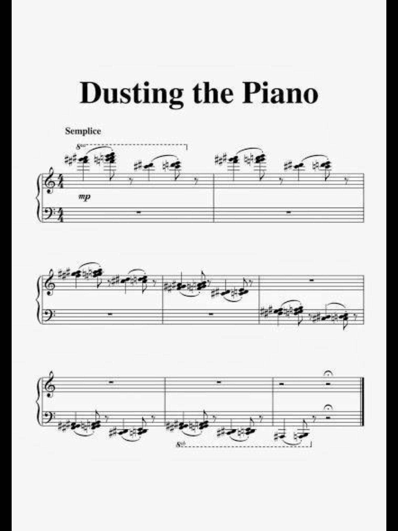Dusting The Piano Music Humor Music Jokes Classical Music Humor
