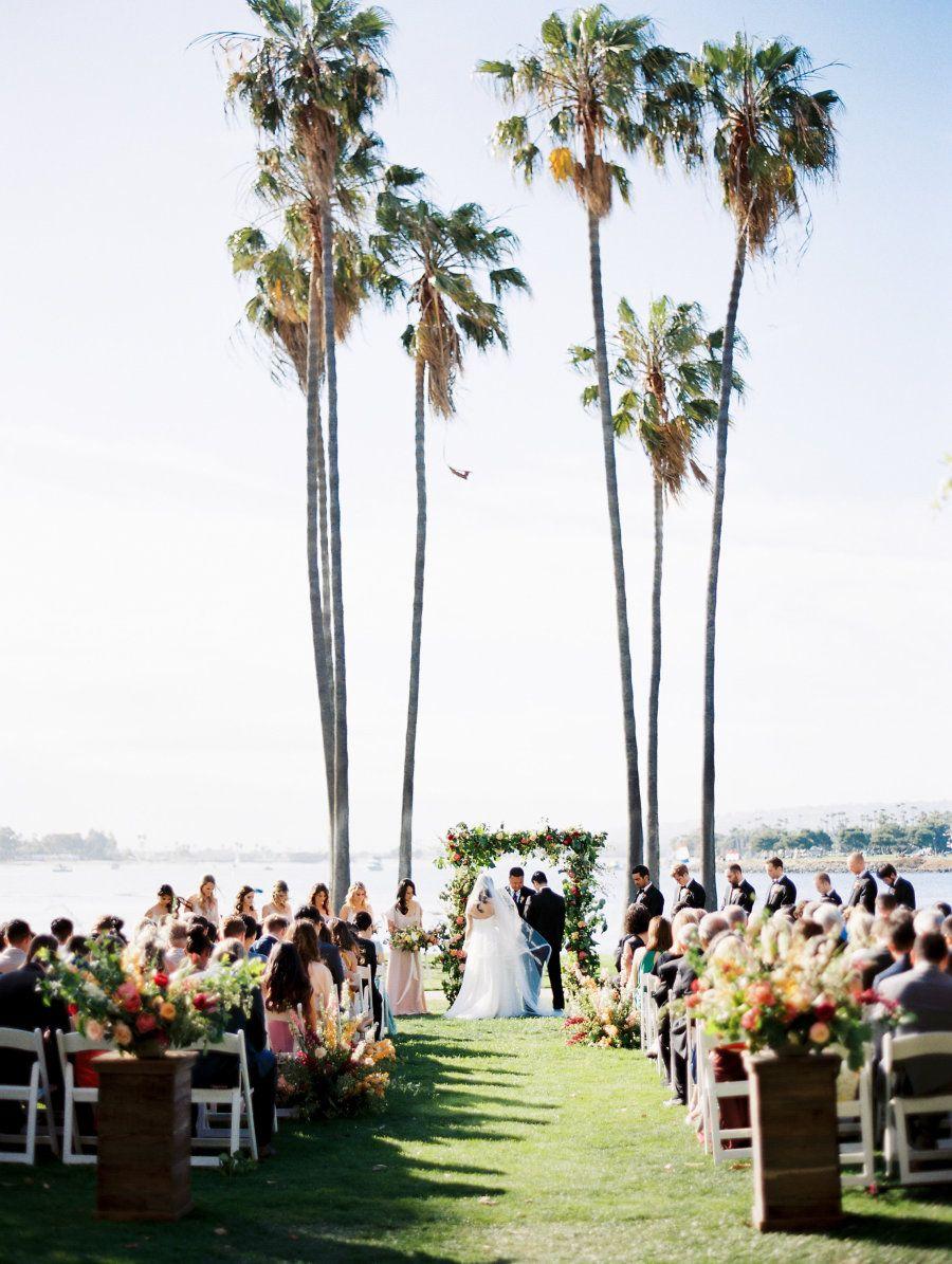 This Ballroom Wedding by the Sea Shines
