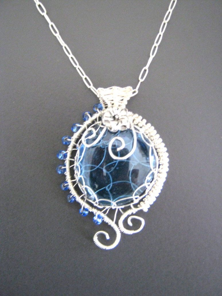 wire wrapping pendant - Google Search | Jewelry | Pinterest