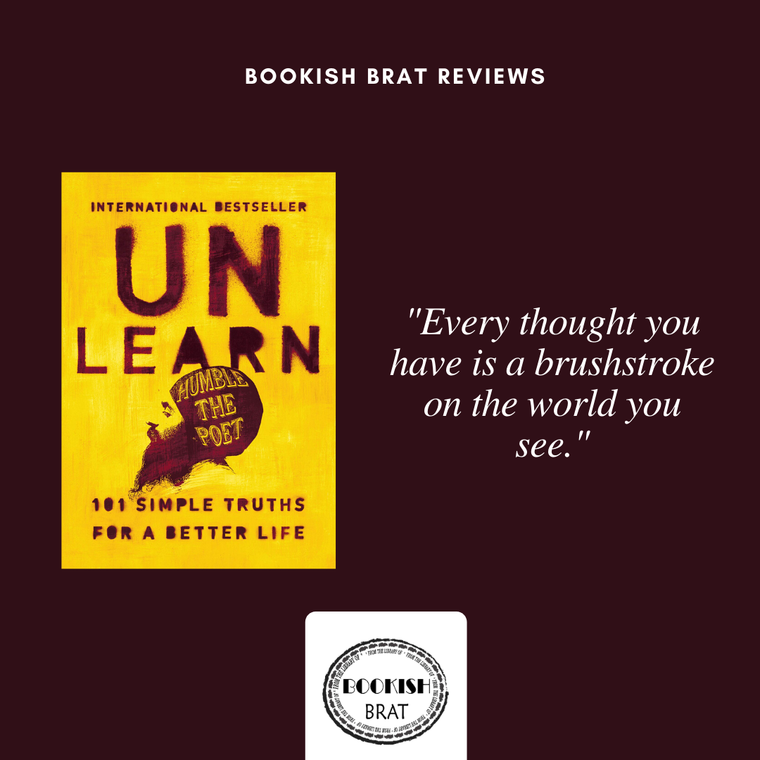 Unlearn By Humble The Poet Book Review Bookish Book Review Books