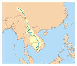 Μεκόνγκ - Βικιπαίδεια | Rivers | Pinterest | Rivers