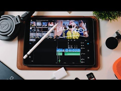 HOW TO EDIT VIDEO on an IPAD LIKE A PRO using LUMA FUSION
