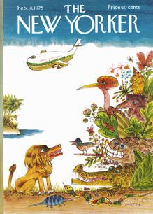 The New Yorker - February, 1975 by Joseph Low