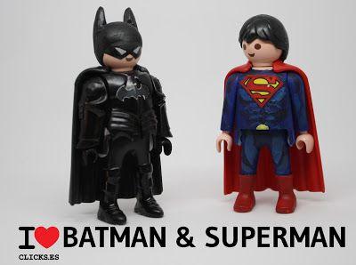 I love clicks batman superman ben affleck playmobil - Batman playmobil ...