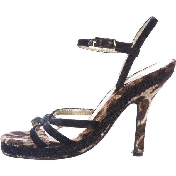 Dolce & Gabbana Ponyhair Suede Sandals online cheap authentic amazon sale online buy cheap websites how much cheap online IHMsnAPC5H