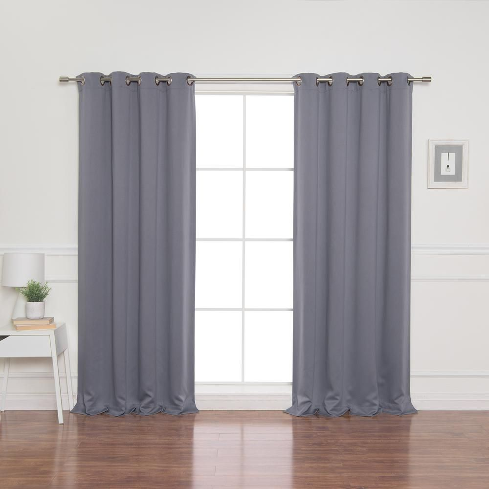 Best Home Fashion 52 In W X 84 In L Flame Retardant Blackout