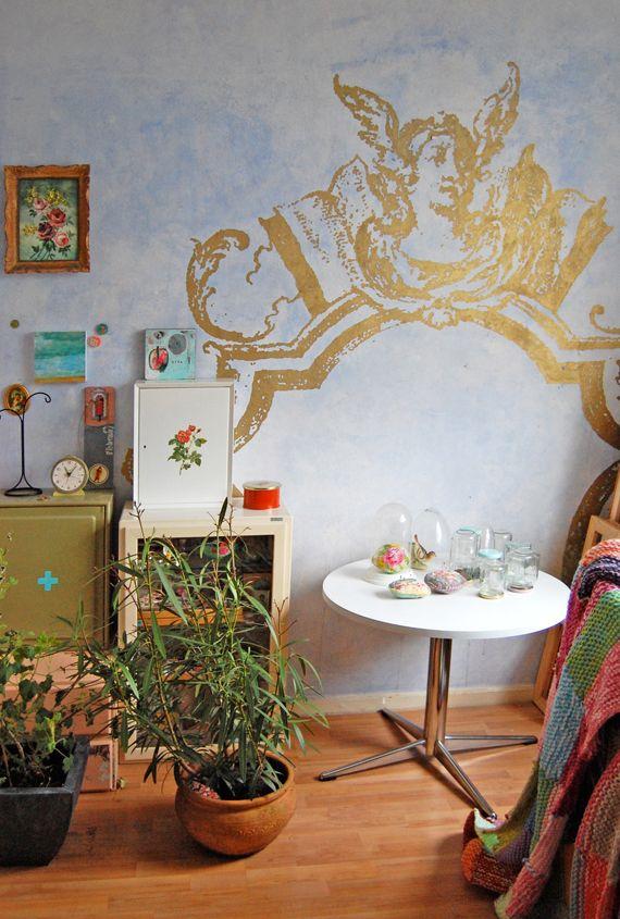 love this corner of Jane Schouten\u0027s home Decoration Inspiration