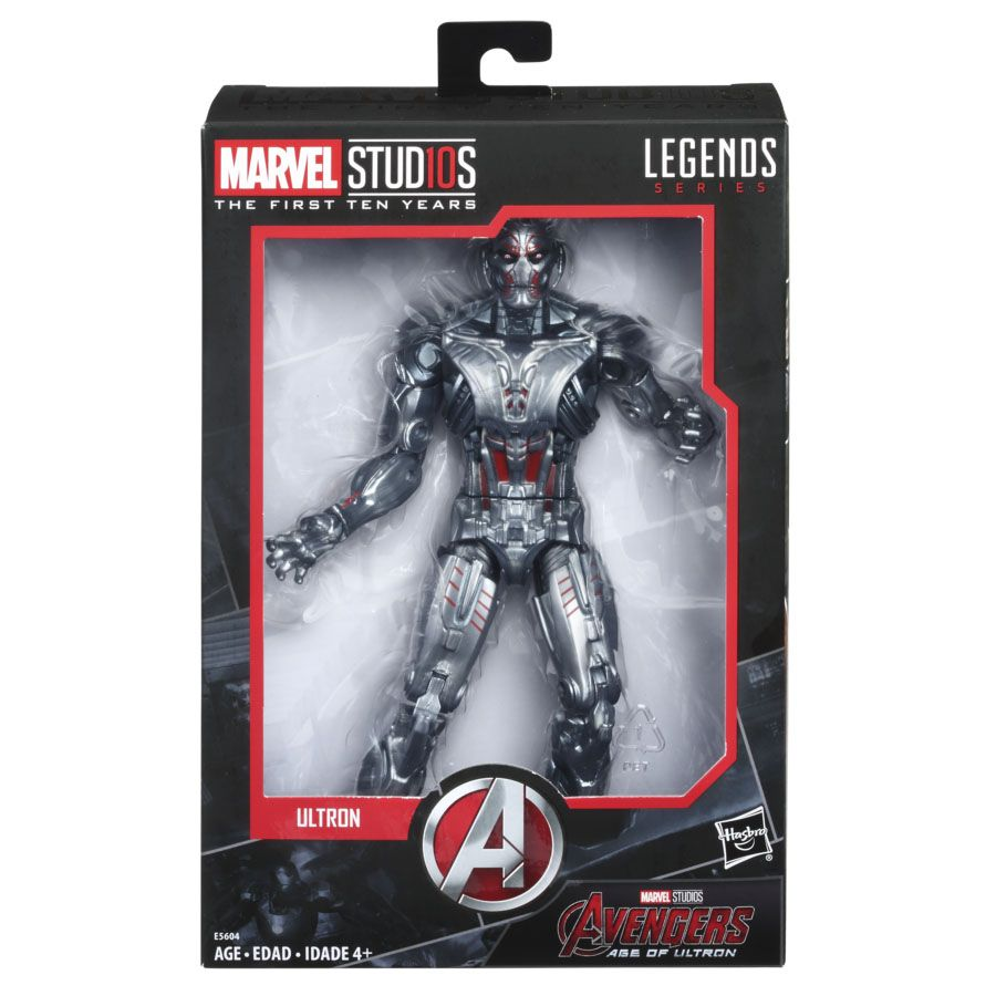 Marvel Legends Studios First Ten 10 Years Avengers Age of Ultron Ultron Figure