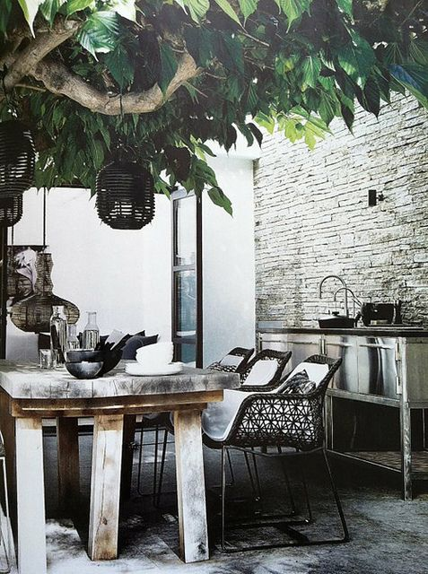 inspired outdoor areas via the style files getting the threshold - Cuisine D Ete Exterieure