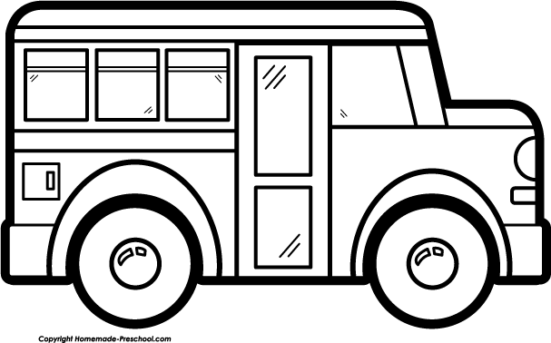 bus clipart black and white clipart panda free clipart images rh pinterest com School Bus Drawing Template School Bus Silhouette