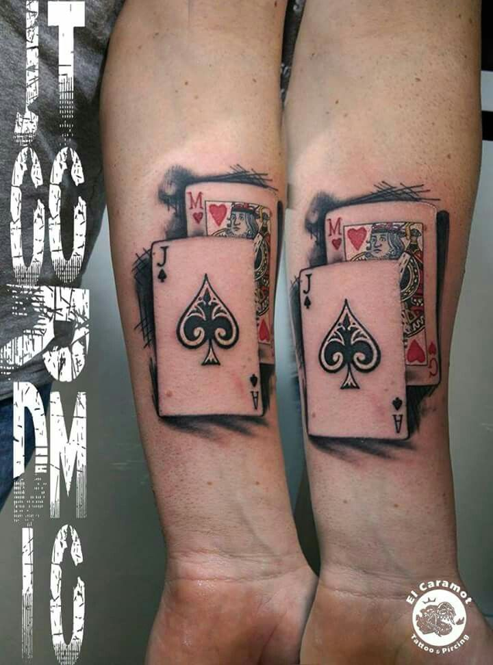 Tattoo Cartas Poker Jordi Tormo Tattoo Pinterest Póker
