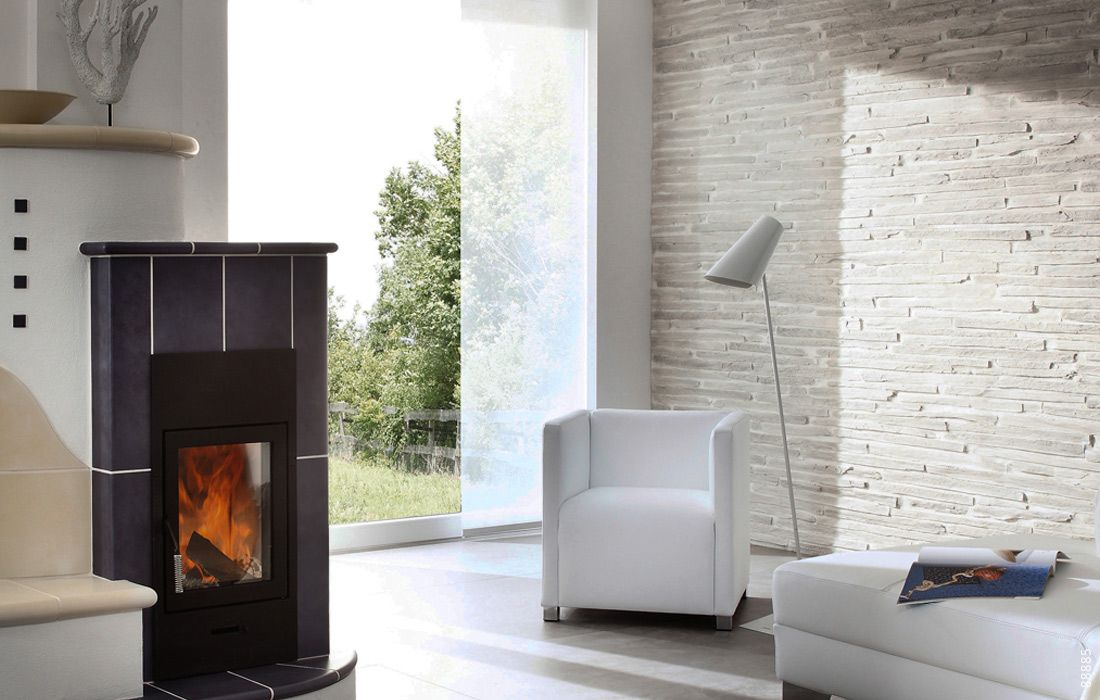 kamin wandverkleidung stein hell pirenaica wand e2 struktur pinterest wandverkleidung. Black Bedroom Furniture Sets. Home Design Ideas