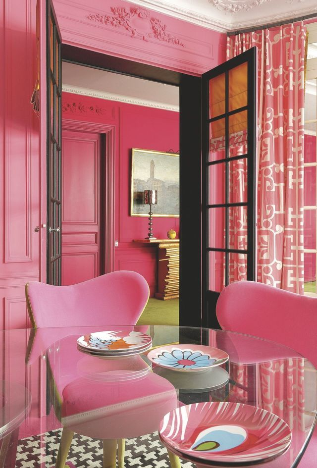Appartement paris 17 ternes une d co avec de la couleur La table du prieur