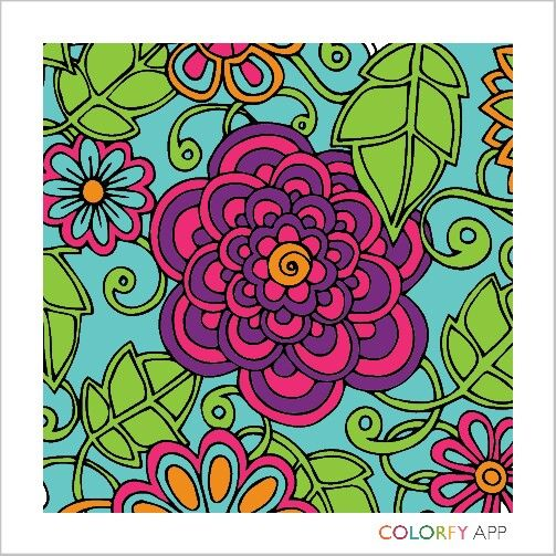 I M At The Water Cooler Artwork Colorful Art Colorfy App