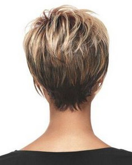 Short Haircuts Back View Hair Styles Short Hair Styles Short Hair Back