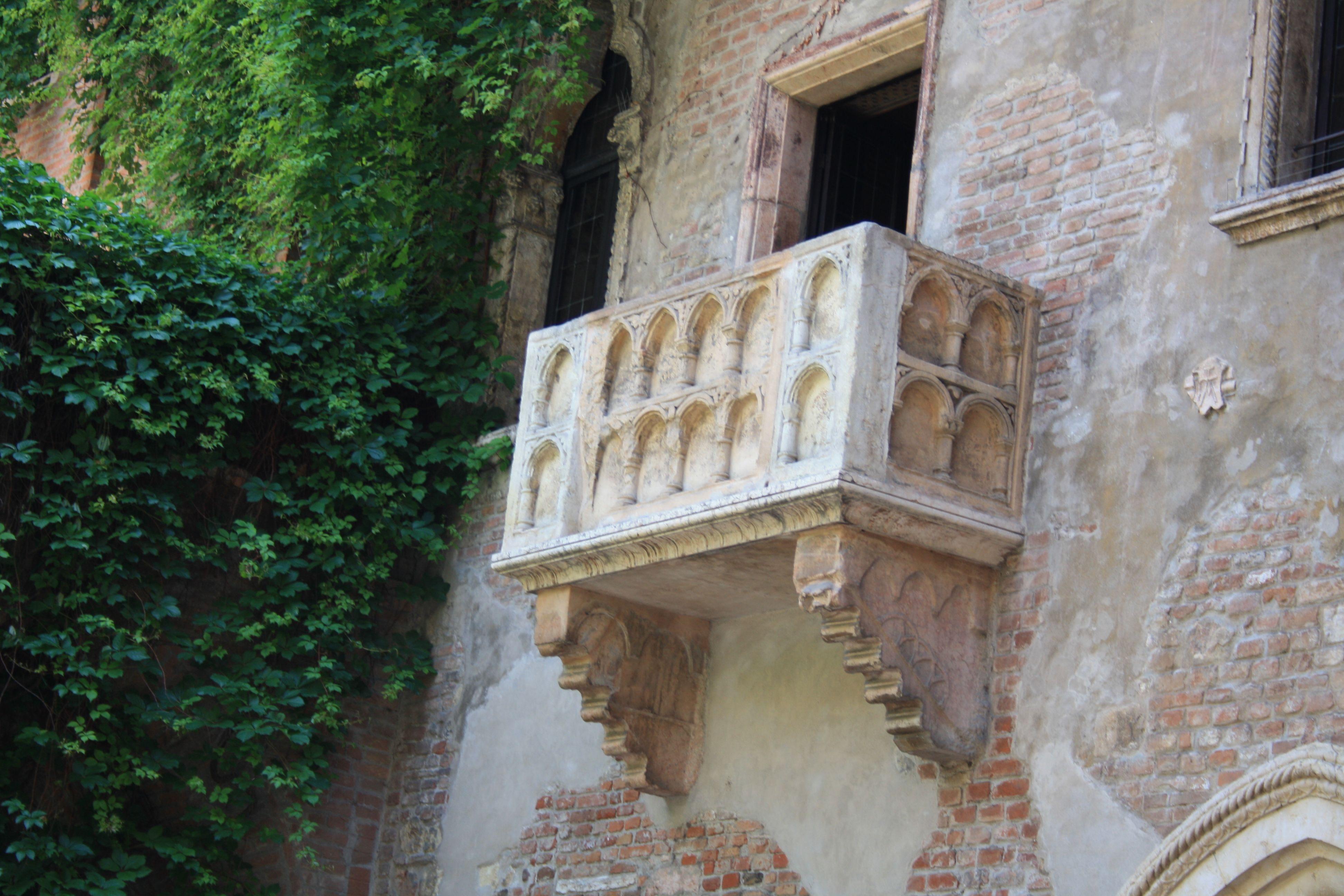 Balcone di Romeo e Juliette.