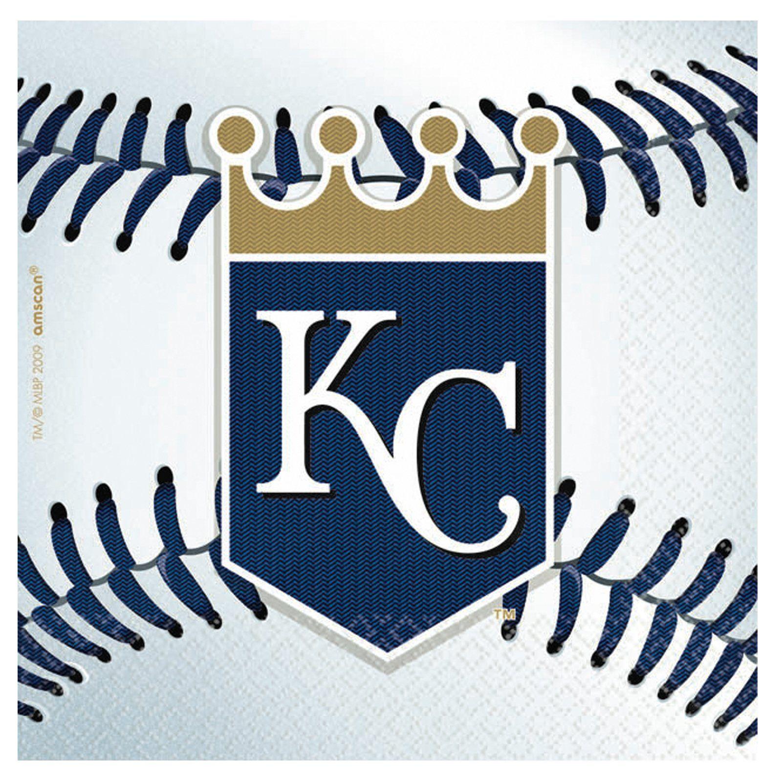 Kansas City Royals Baseball Beverage Napkins Kansas City Royals Baseball Royals Baseball Kansas City Royals