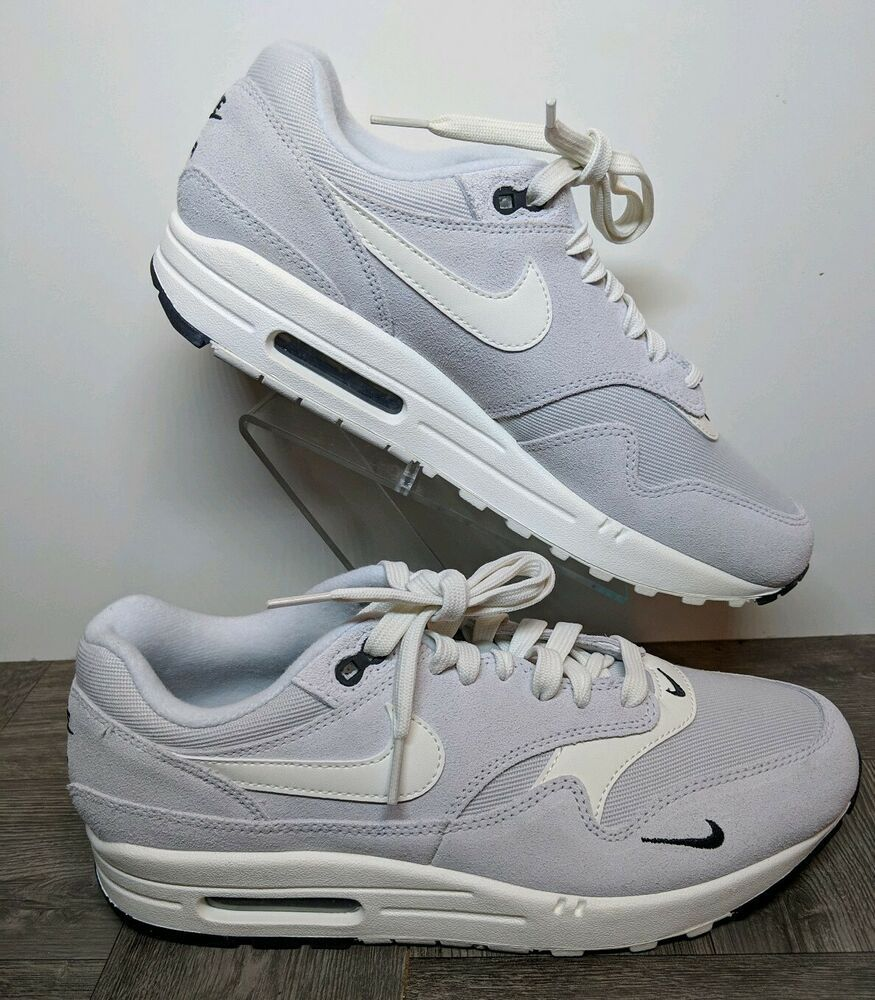 brand new 5c971 27548 New Nike Air Max 1 Premium Pure Platinum Sail 875844-006 Men Size 8.5