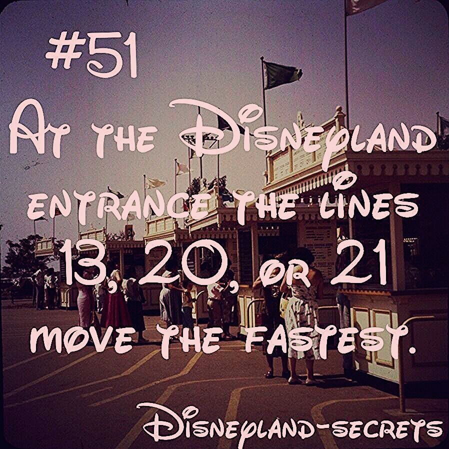 Photo of Discover Disneyland Secrets! — In case there are long lines to enter the park!…