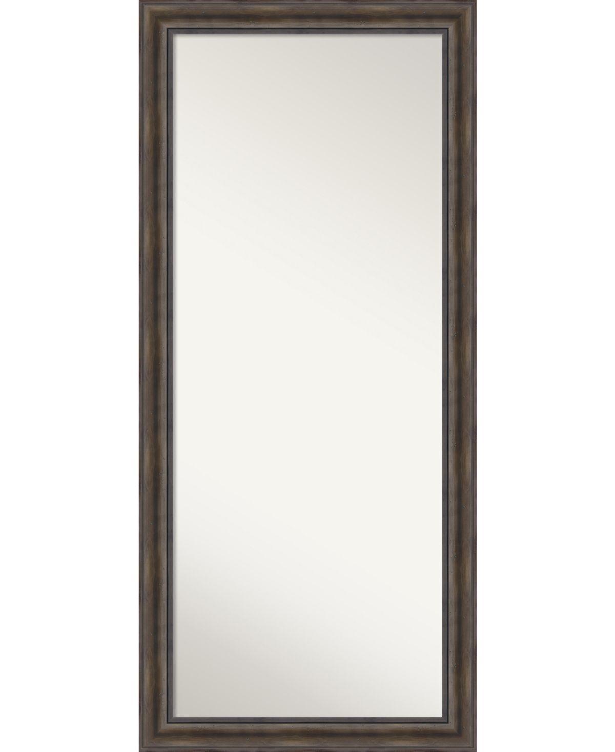 Amanti Art Rustic Pine Wood 29x65 Floor Leaner Mirror Reviews