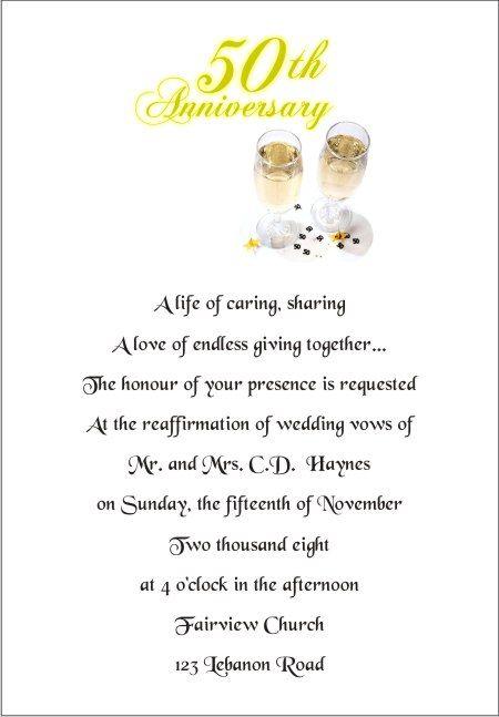 50th wedding anniversary invitation wording samples wedding ideas 50th wedding anniversary wording for invitation 3 208x300 filmwisefo