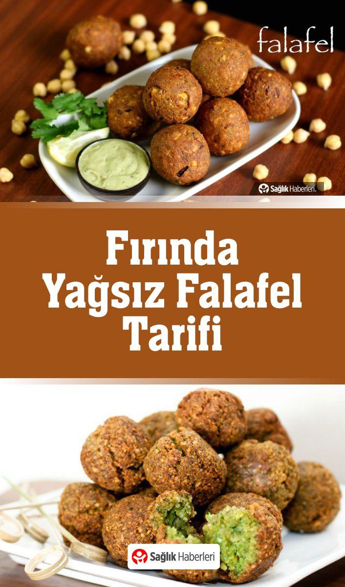 Fırında Yağsız Falafel Tarifi
