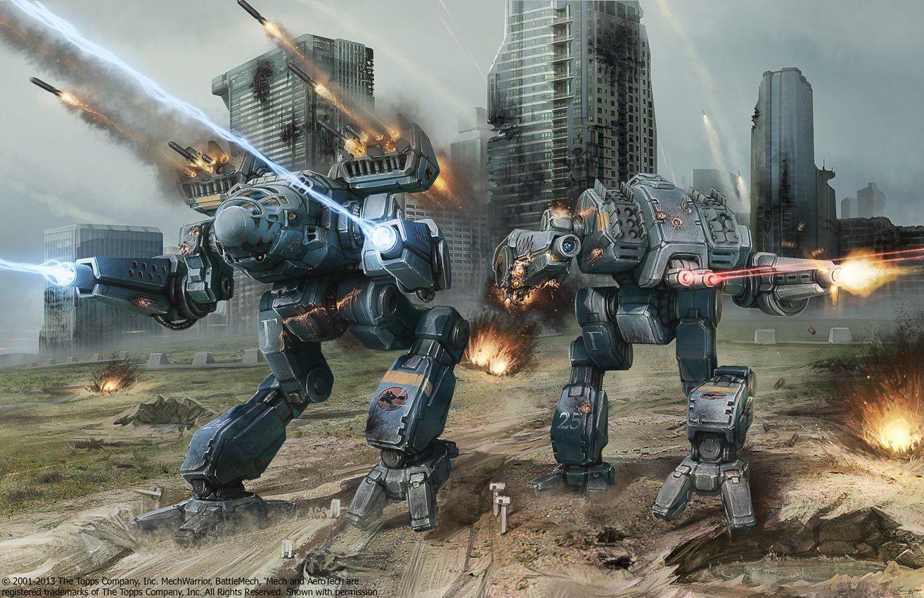 Wolf S Dragoons Timber Wolf Mk Ii And Mad Dog Mk Ii Mech Giant Robots Mecha