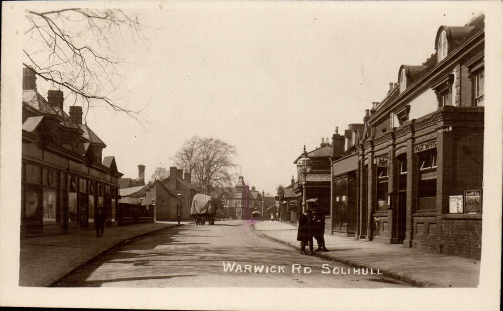 Solihull. Warwick Road & Post Office | Post office