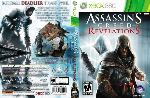 Assassins Creed Revelations Xbox 360 Cover Free Covers In 2020