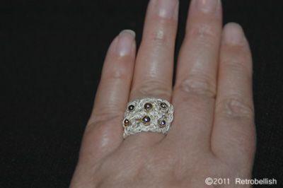 Crochet-Ring retrobellish.com