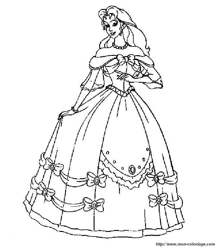 ausmalbild ein wunderschones kleid mit bildern  kleider