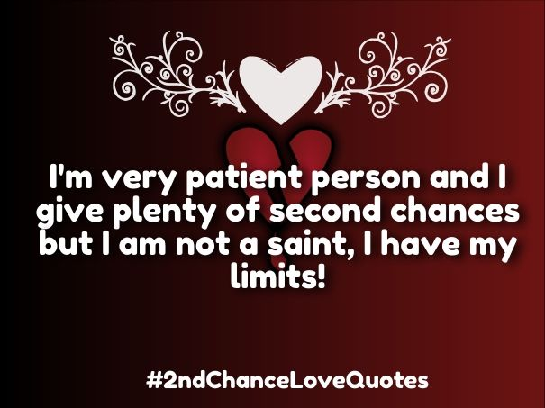 second chance love poems for him