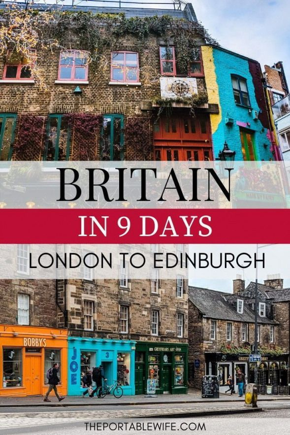 Take a British road trip from London to Edinburgh with this UK driving tour guide. Spend 2 days in London take a day trip to Bath explore the beautiful Cotswolds villages hike the Lake District and more! Includes the best England travel destinations and lower Scotland travel highlights. #london #england #uktravel #edinburgh #scotland #ukandiedestinations #uk #destinations #bucket #lists