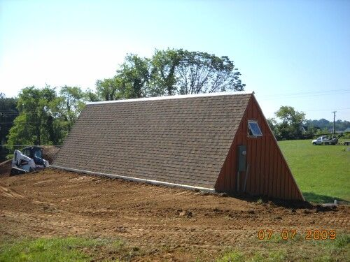 Building A Solar Greenhouse With The Subterranean Heating And