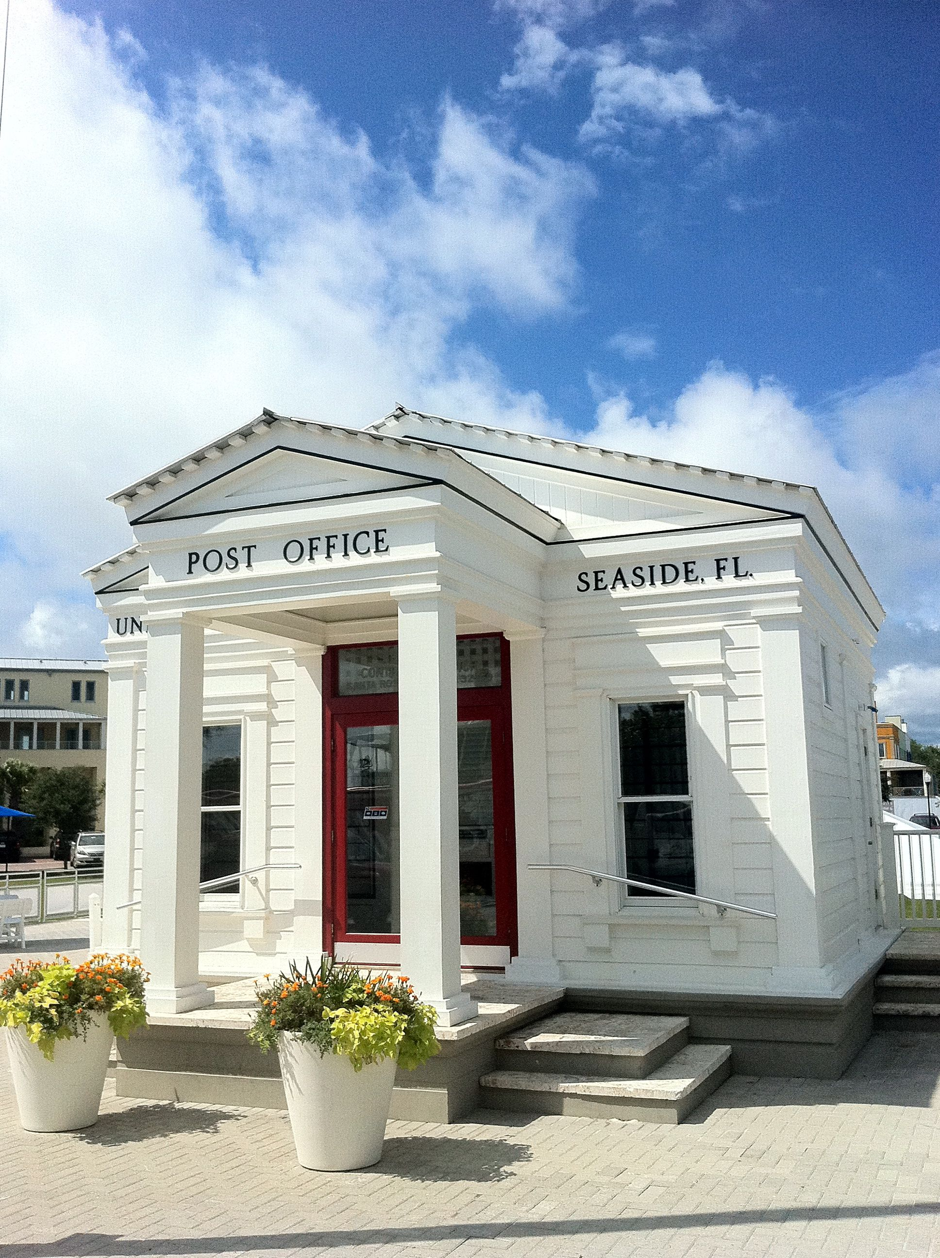 Post Office Seaside Florida http://www.beachreunion.com/vacation-rentals-homes.asp?cat=5796