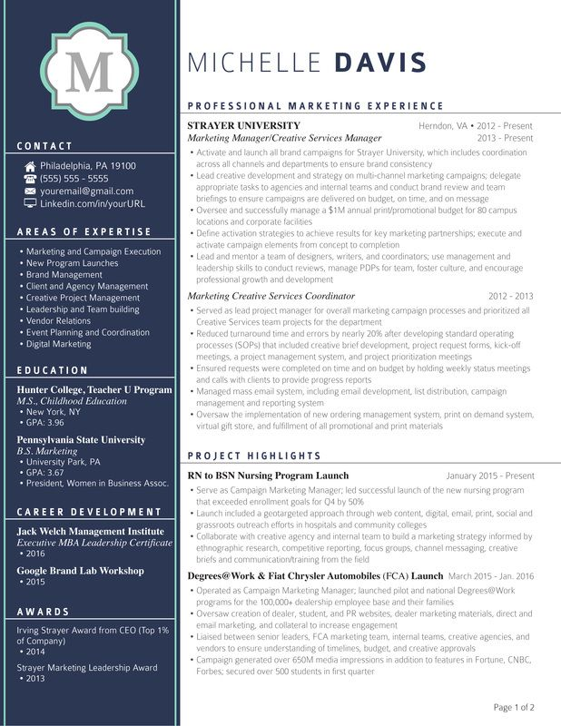 Resume Templates That Will Get You Noticed Elevated Resumes Sample Resume Templates Resume Design Professional Resume Templates