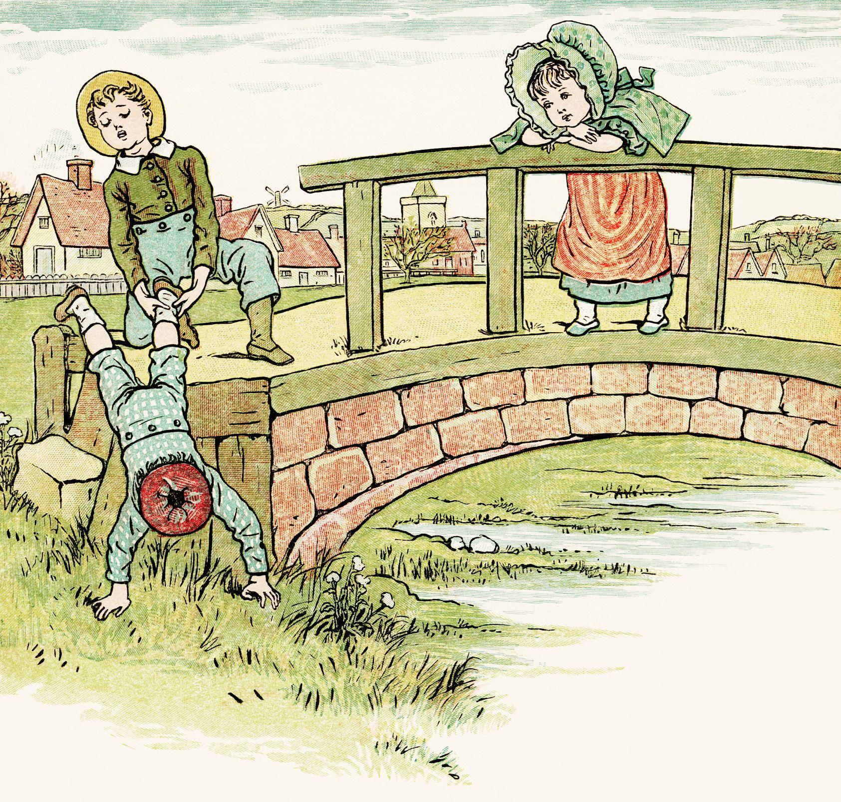 Free Digital Image Vintage Illustrated Children S Book Page Childrens Books Illustrations Old Children S Books Children S Book Illustration