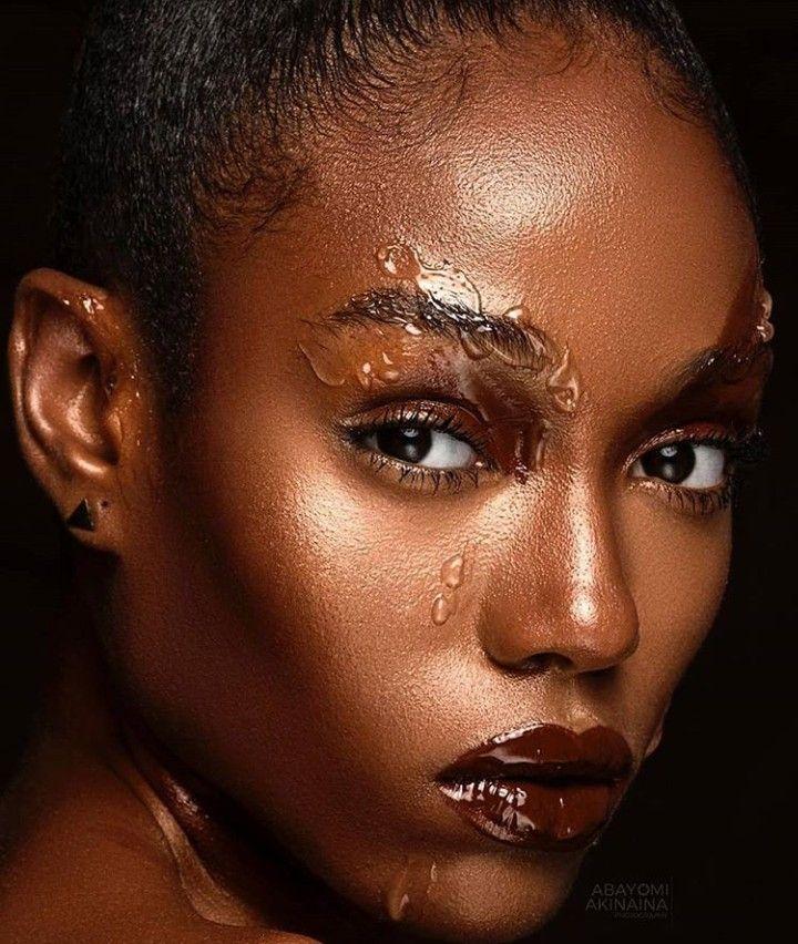 That pure brown skin girl Indie makeup brands, Black