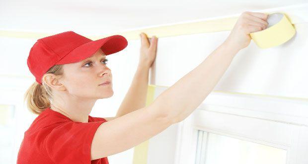 Comment peindre un plafond facilement et sans trace ? | Peindre un plafond, Comment peindre un ...