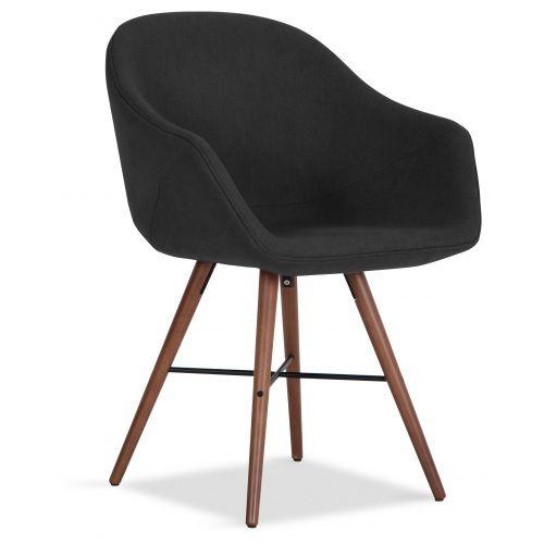 stuhlset rex anthrazit holzfu walnuss 2er set g nstig online kaufen fashion for home flat. Black Bedroom Furniture Sets. Home Design Ideas