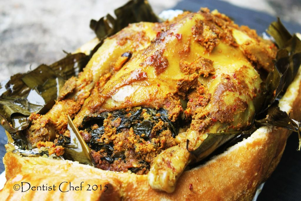Resep Ayam Betutu Bali Salt Crusted And Banana Leaves Wrapped Roasted Balinese Spicy Chicken Balinese Recipe Chicken Recipes Chicken Dishes