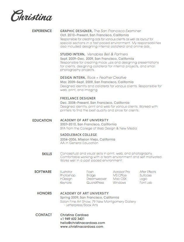 26 CV originaux que vous voudrez immédiatement copier Graphic - copier sales resume