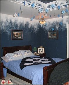 Girls Frozen Room Decorating Ideas Decorating Theme Bedrooms