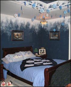 Frozen Bedroom Decorations | Girls Frozen Room Decorating Ideas Decorating Theme Bedrooms