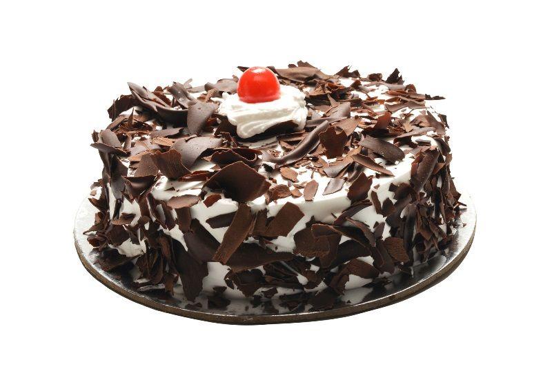 1 Kg Black Forest Cake enough to delight your partner mood