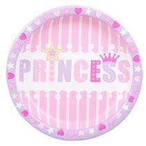Bulk Princess Paper Party Plates 9\  18-ct. Packs at DollarTree  sc 1 st  Pinterest & Bulk Princess Paper Party Plates 9\